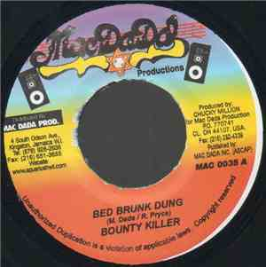 Bounty Killer / Danny English - Bed Brunk Dung / Gal